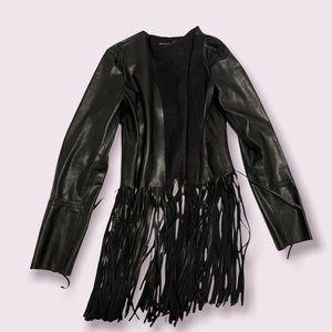 Gorgeous faux leather jacket